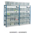 Toprax - Standard Extension Bays c/w 15 x 24 Ltr. Containers