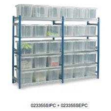 Toprax - Standard Initial Bays c/w 15 x 24 Ltr. Containers
