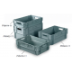 Topstore - Stack & Nest Euro Containers