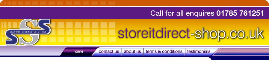 StoreItDirect Logo Pallet Racking from StoreItDirect.co.uk for all of your Shelving, Storage and Racking requirements